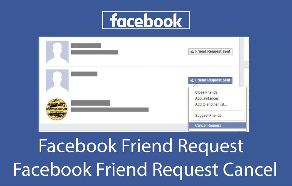 Facebook Friend Request - Facebook Friend Request List   Facebook Friend Request Cancel