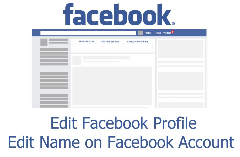 Edit Facebook Profile - Edit Name on Facebook Account