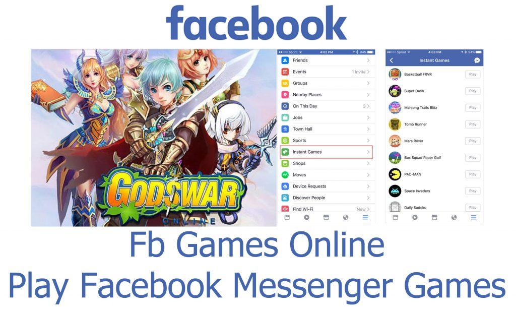 Fb Games Online - Play Facebook Messenger Games