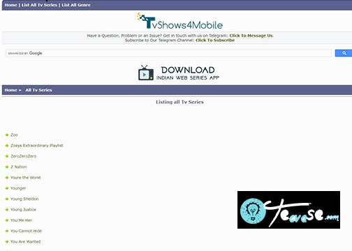 TvShows4Mobile - Download Latest TV Series and Movies | TvShows4Mobile.com
