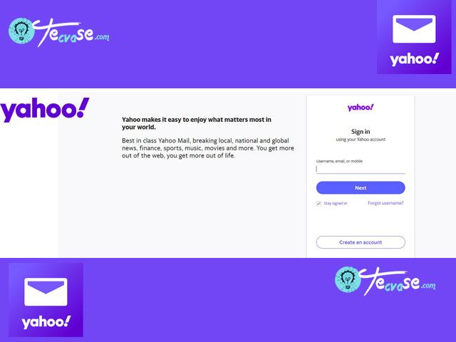 Yahoo Email Login -  Log into my Yahoo Email Account   Yahoo Mail Login