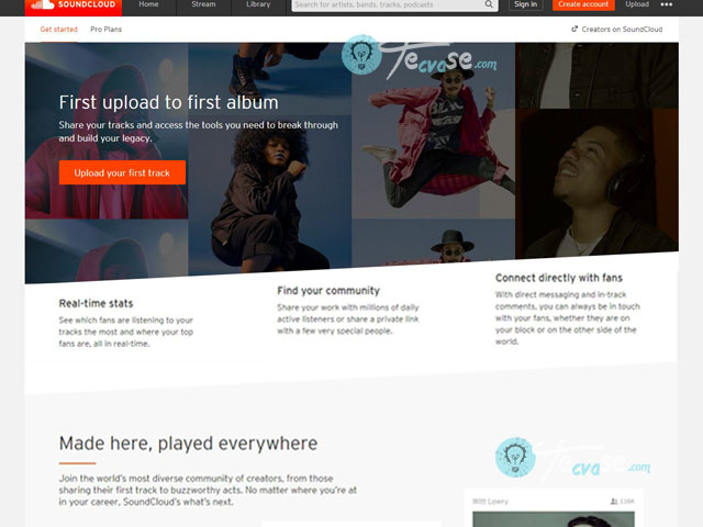 SoundCloud Upload - How to Upload Music to SoundCloud   SoundCloud Upload Page