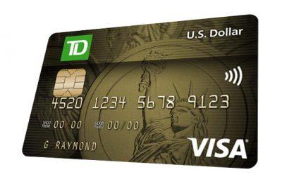 TD U.S Dollar Visa Card -  Apply for a TD U.S. Dollar Visa* Card   TD Canada Trust