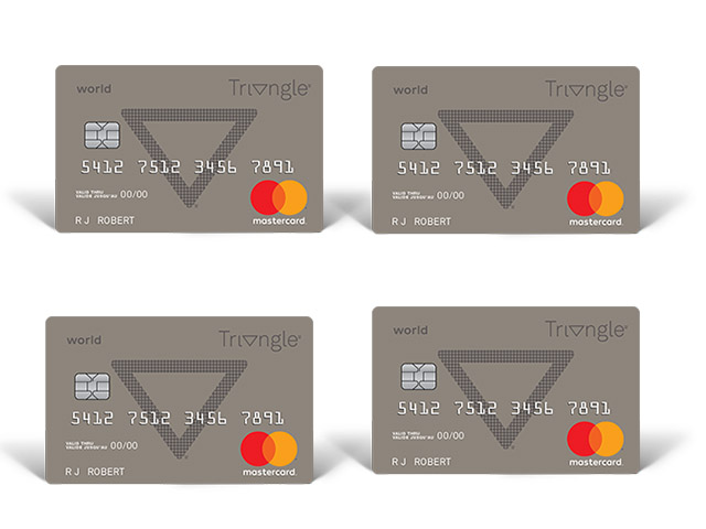 Triangle World Mastercard -  Apply for Canadian Tire Triangle World Mastercard