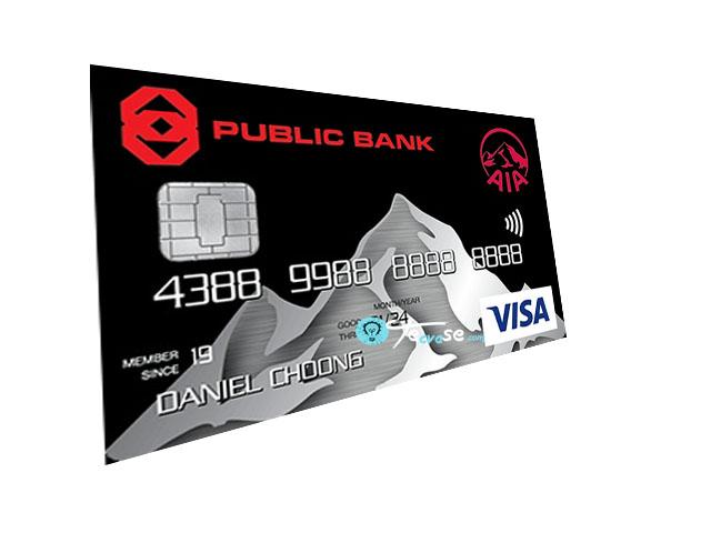 Public Bank AIA Visa Gold Credit Card - Apply for  PB-AIA Visa Gold Credit Card