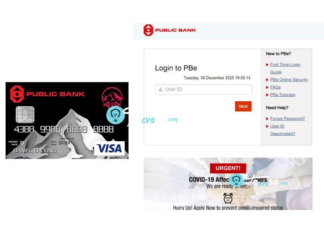 Public Bank AIA Visa Gold Credit Card Login - How to Login to Public Bank AIA Credit Card
