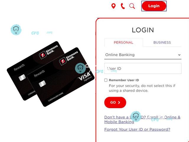 Simmons Rewards Visa Signature Credit Card Login - Login Simmons Rewards Visa Signature