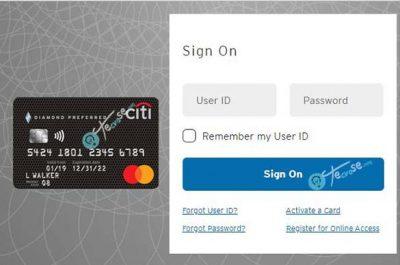 Citi Diamond Preferred Card Login - Citibank Credit Card