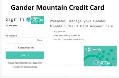 Gander Mountain Credit Card - Login to Manage your Gander Mountain Credit Card