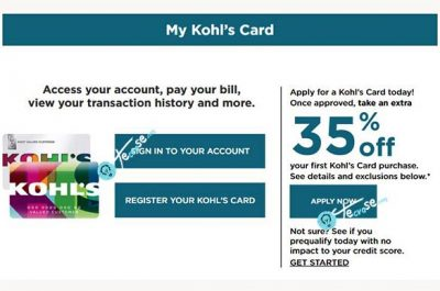 Apply for a Kohl's Credit Card - Kohl's Credit Card