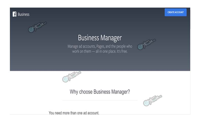 Facebook Business Manager Account - Sign Up For Business Manager