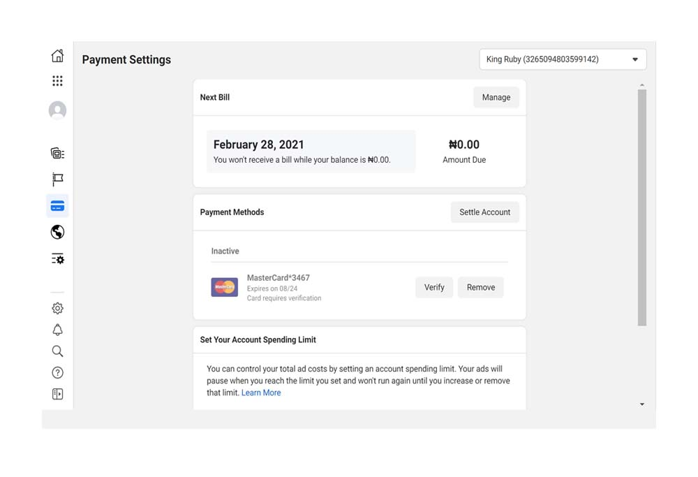 Facebook Payment For Ads - Pay For Your Facebook Ads | Add Payment Method