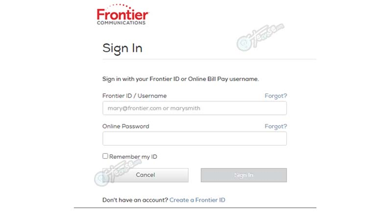 Frontier Mail Sign In - Login Your Frontier Account | Frontier Mail Login