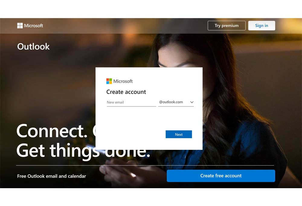 How to Create An Outlook Account - Sign Up For Hotmail   Create a Hotmail Account
