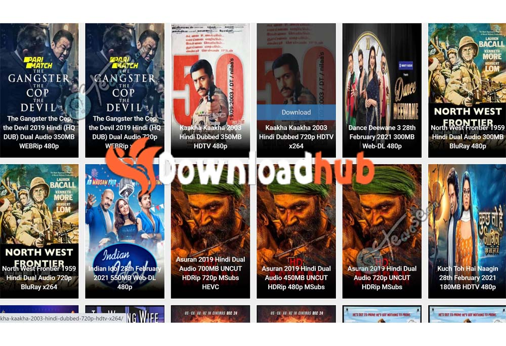 Downloadhub -  Download 300MB Movies From Downloadhub   Downloadhub Movies