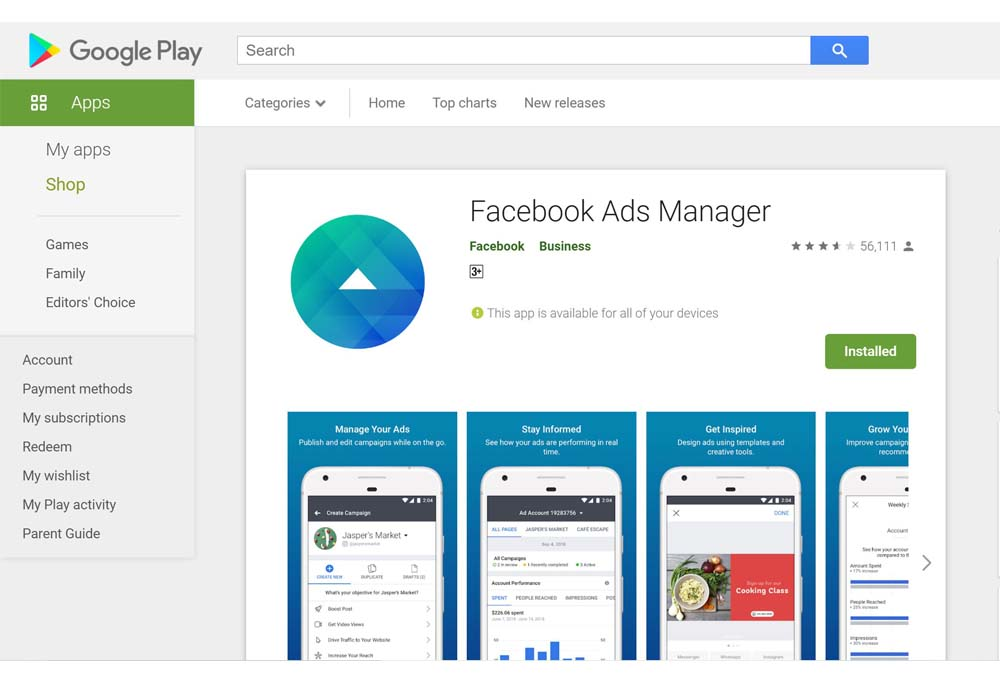 Facebook Ads Manager App - Create and Manage Ads on Mobile Devices