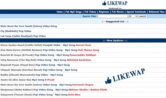 Likewap - Download Free Mp3 Songs & Movies   www likewap com
