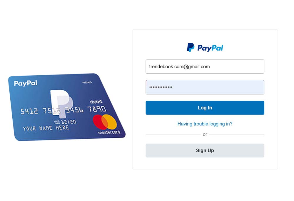 PayPal Credit Card Login - Log in to Your PayPal Account | PayPal card login