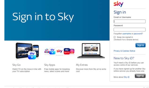 Sky Yahoo Mail Login - Access Your Sky Yahoo Mail
