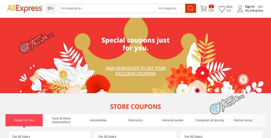 AliExpress Coupon - Get Aliexpress Coupon and Promo Code