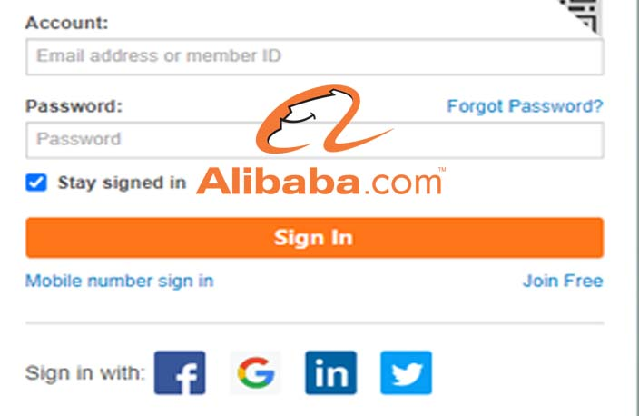 Alibaba Login - Sign in to Your Alibaba Account
