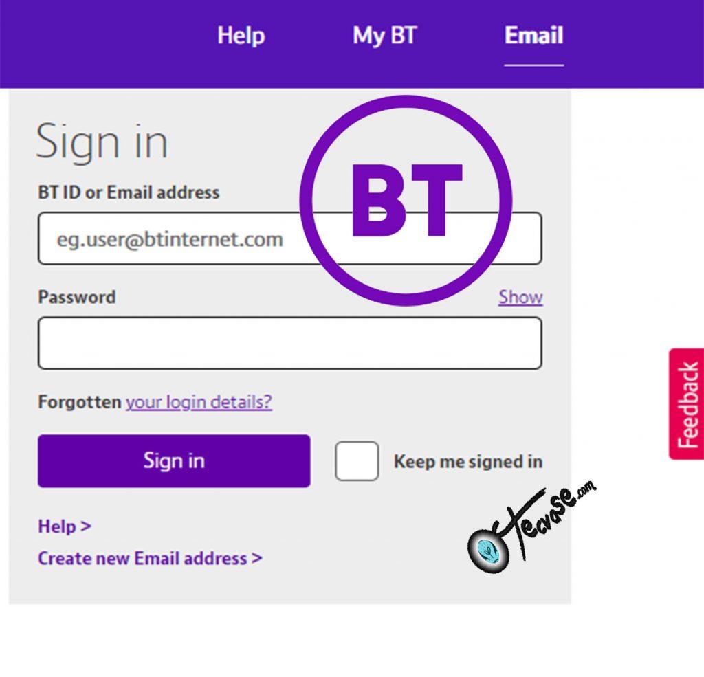 BT Login - Sign in My BT | Btinternet Email Login