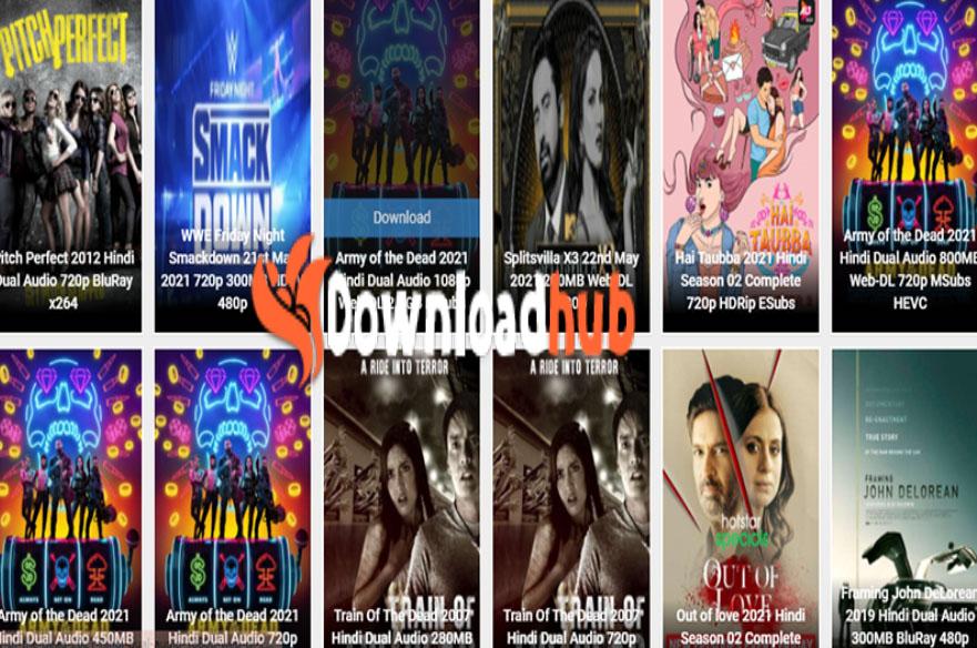 Downloadhub Movies - Download 3OOMB Movies | Downloadhub Website