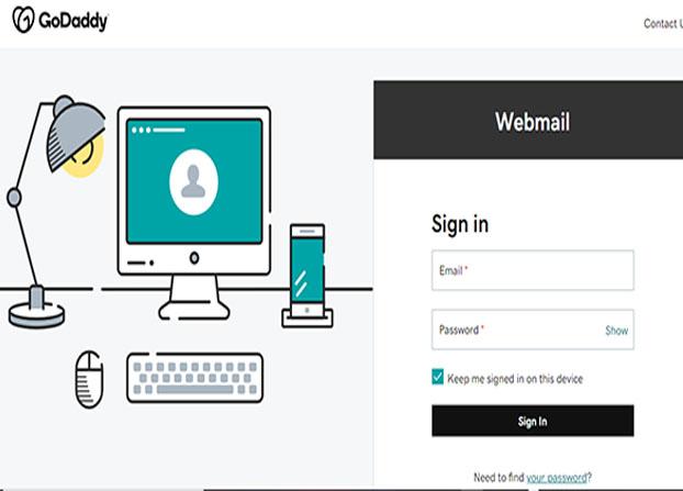 GoDaddy Webmail -  Get A Professional Business Email   GoDaddy Webmail Login