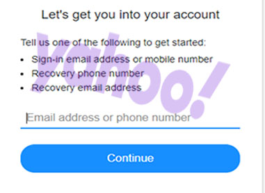 How to Recover Yahoo Account - Recover Yahoo Email