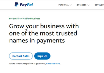 PayPal For Business - Sign Up For a Business PayPal Account