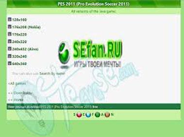 Sefan.ru - Free Java Games, Themes, and Videos   www.sefan.ru