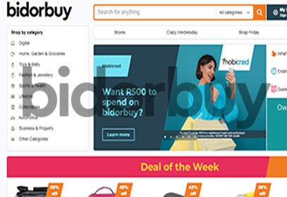 Bidorbuy - Shop Online for Electronics, Fashion, Furniture, And Appliances