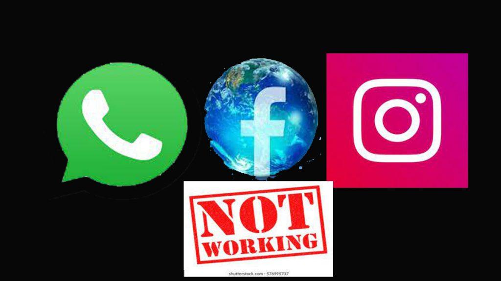 Facebook, Instagram, and WhatsApp Not Working In UK - Facebook Not Responding